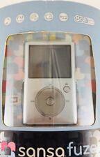 SanDisk Sansa Fuze Silver 8 GB Digital Media Player Music Video Photos FM Radio