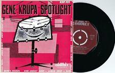Gene Krupa ORIG OZ EP Spotlight VG+ '58 Coronet KEP105 Jazz Swing Bop