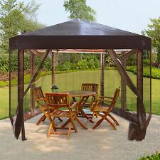 VILOBOS Outdoor Pop Up Gazebo Foldable Party Tent Garden Sun Shelter Canopy Bag