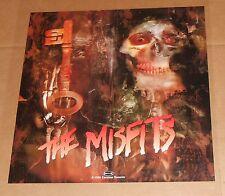 The Misfits Poster Original 1996 Promo 18x18 RARE Skeleton Key Danzig Coffin Box
