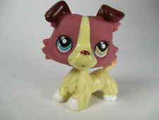 Littlest Pet Shop toys #1262 Collection Lps dog figure Red collie