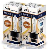 2 x D4S XENON BULB 4300K Genuine LUNEX compatible with XenEco 42402 Xenarc 66440