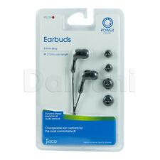EARBUDS BLACKfor Nokia, Samsung, LG, Motorola, Sony Ericsson, BlackBerry, HTC