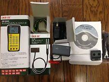 DER EE DE-5000 Fullset High Accuracy Handheld LCR Meter TL-21,22,23,IR,AC/DC