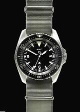 MWC European Pattern Heavy Duty Stainless Steel Military Divers Watch (Quartz)