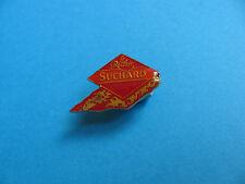 Suchard Chocolate pin badge.
