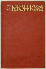 Riches 1936 book Watchtower JF Rutherford Jehovah Nice!
