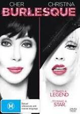 Cher Burlesque Christina Aguilera Region 4 DVD VGC