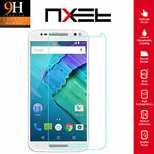 100%GENUINE TEMPERED GLASS FILM SCREEN PROTECTOR COVER FOR MOTOROLA MOTO X STYLE