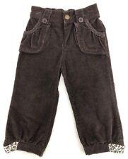 [M3] Kids Headquarters Brown Corduroy Baby Pants Girl's 18 M EUC