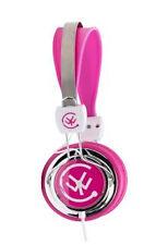 Urbanz Zip Multi-Device Headband/On-Ear Stereo Headphones - Pink