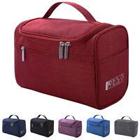 US Women Large Toiletry Makeup Bag Wash Travel Hanging Zipper Organizer Portable