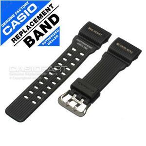 Genuine Casio Watch Band for Master of G-shock Mudmaster GG-1000-1A Black Strap