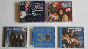 CDs ; Bad Boys Blue ; Modern Talking ; Blue System