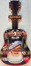 Hard Rock Cafe LAS VEGAS STRIP 2013 Guitar MAGNET Bottle Opener V12 City Icons