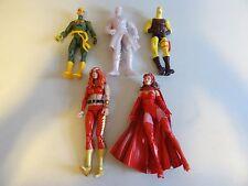 """LOT OF 5 Marvel Legends/DC Universe Lot THUNDRA Scarlet DAREDEVIL 6"""" dr ms  #182"""