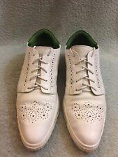 SWEAR London Dean 2 White Leather Pointy Sneaker Shoes Men's US 9 Eu 41