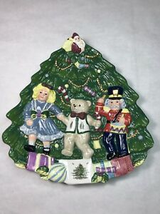 Spode Christmas tree Decorative Plate Christmas Decoration