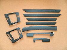 Dekorleisten Interieurleisten Carbon 3D Struktur Folien Set passend für BMW E46
