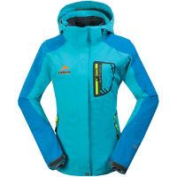 New Womens Girls 3-IN-1 Winter Ski Snow Jacket Waterproof Fleece Liner Outerwear