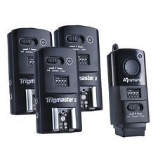Aputure 2.4G Wireless Flash Trigger Trigmaster II MXII-C with 3RX for Canon