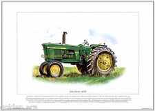 JOHN DEERE 4020 TRACTOR - FINE ART PRINT - Classic agricultural farming image