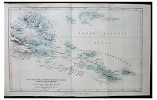 1889 Thomson - NEW GUINEA - HEAD HUNTERS - MAP - Louisiade - D'Entrecasteaux - 9