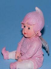 "Boyds Bears resin Fairietots  #36250 ""Poutie"" baby fairy NIB year round 2002"