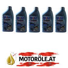 5 Liter 5W-30 Mobil Super 3000 XE 5W30 Motoröl MERCEDES VW BMW FORD GM OPEL NEU