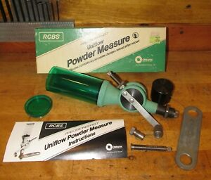 RCBS Uniflow Powder Measure No. 09000, Large & Small Chlinders, Mint Condition!