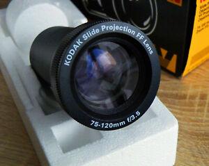 FF Projektionsobjektiv Kodak ZOOM 3,5/75-120mm.für Diaprojektor Ektalite Neu OVP