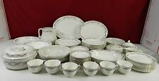 57 Piece Hall Superior Wildfire Dinnerware Set - Several Serving Pieces