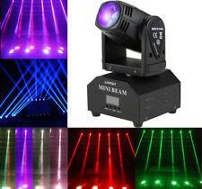 Lixada 60W Rgbw Moving Head Beam Stage Lighting Spot Dmx512 Party Bar Dj Light