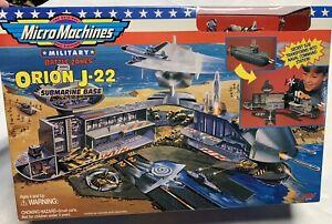 Micro machines Orion J-22 Submarine Base