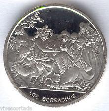 Medalla D. Velazquez ( Los Borrachos ) 1 Onza plata