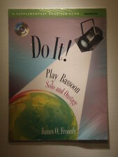 Do It! Play Bassoon Solo & Onstage book & CD -- NEW James O Froseth