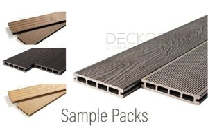 Composite Decking Boards | Premium Quality | 99p Sample Packs | 8 Colours