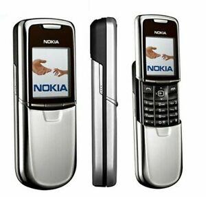 """Nokia 8800 Stainless Dummy Phone silber (Rarität) """"NEU"""""""
