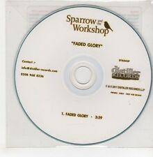 (GO821) Sparrow & The Workshop, Faded Glory - 2011 DJ CD