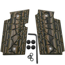 Coolhand G10 Grips for Sig Sauer P938 w/ Screws Spider Web Texture Coyote Brown