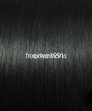1g U Nail Tip 100% Real 100% Human Hair Extensions Keratin Pre Bonded UK STOCK