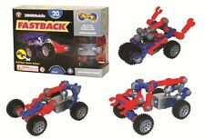 ZOOB RACERZ - FASTBACK PULLBACK MOTOR 23 PIECES BRAND NEW BUILD IT MOVE IT