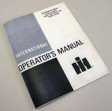 INTERNATIONAL CUB CADET 1282 682 782 TRACTOR OPERATORS OWNERS MANUAL MAINTENANCE