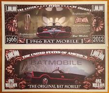 1966 Bat Mobile Million Dollar Bill