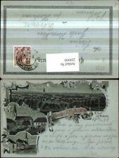 259593,Mond Litho AK Gruß aus St. Valentin Totale Kirche Schulplatz Mehrbildkart