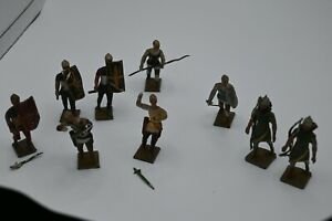 9 Knights Paint Ok Most Weapons Bent Made in France
