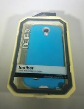 New Incipio Feather Ultra Thin Snap-On Case Galaxy S4 SA-372 Cyan Blue