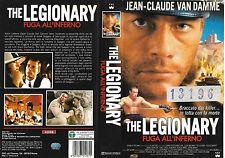 THE LEGIONARY - FUGA ALL'INFERNO (1998) vhs ex noleggio