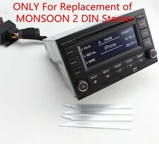 RCN210 CD USB MP3 AUX Bluetooth Replace USA/CA 2 DIN MONSOON Fits Golf/JETTA MK4