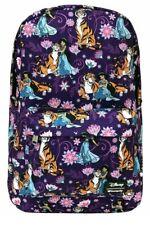 Loungefly x Disney Aladdin Jasmine and Raja Allover-Print Nylon Backpack